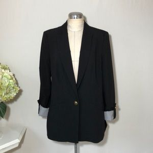 Zara Women's Basic Black Blazer